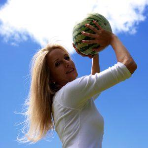 Petra-mit-Melone